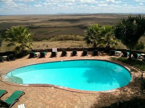 Mara Serena Safari Lodge: Small swimming pool