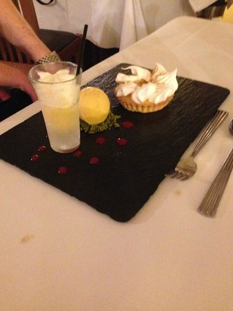 Ox Pasture Hall Hotel: key lime pie