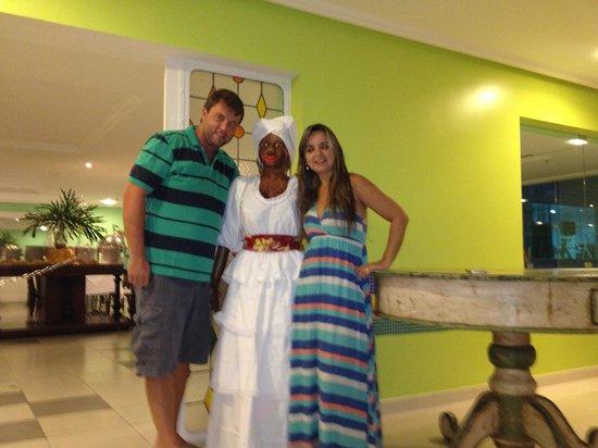 Bahia Plaza Hotel : Restaurante hotel