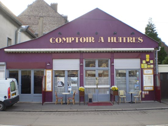 Comptoir A Huitres : Facade du restaurant