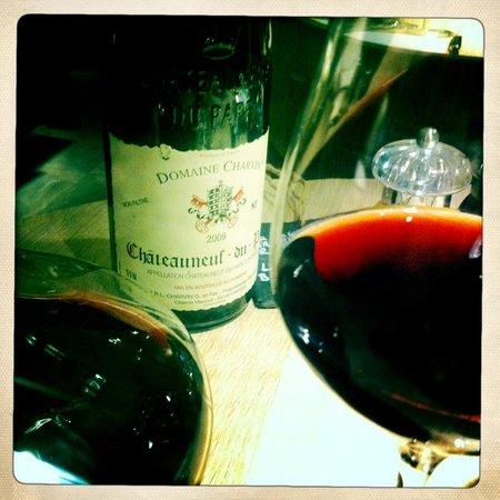 Le Villaret : Carte des vins.