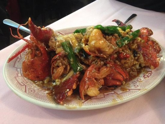 Hop Lee: Cantonese style lobster