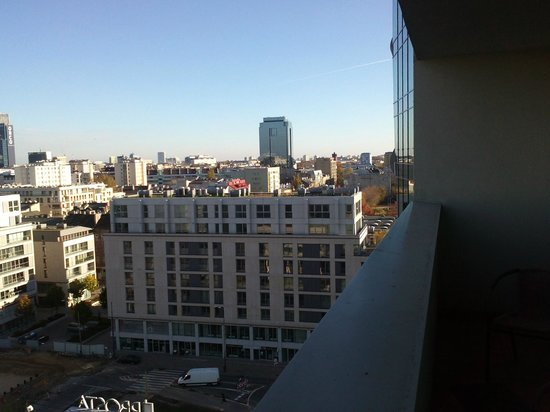 Apartamenty Sun&Snow Lucka: вид с балкона