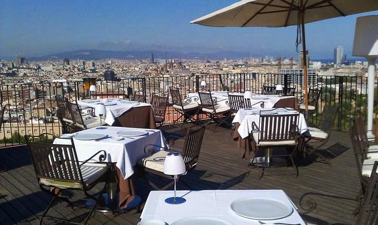 Terraza Barcelona Picture Of El Xalet De Montjuic