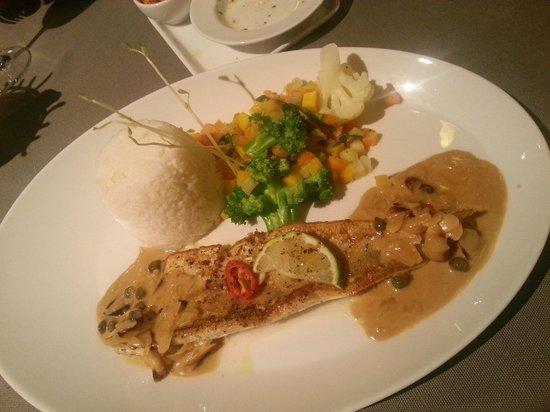 Hotel Victoria: Pesce persico