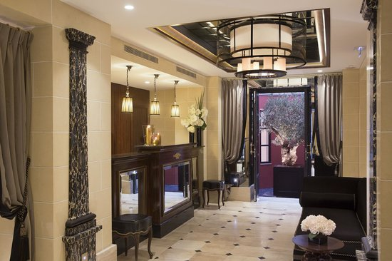Le Belmont Hotel : Entrée/Lobby