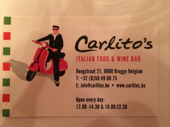 Carlito's Restaurant: Adress and Details