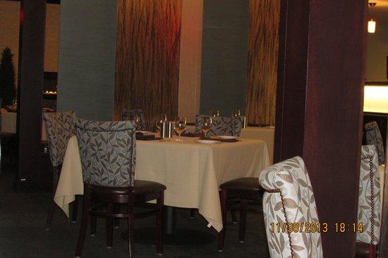 Savor : inside the restaurant