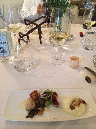 Moulin d'Alotz : servicio de mesa exquisito