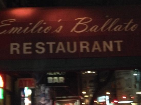Ballato's: outside
