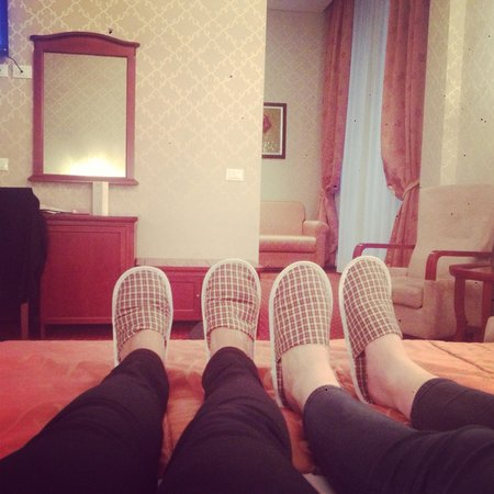 Augusta Lucilla Palace: Complimentary slippers