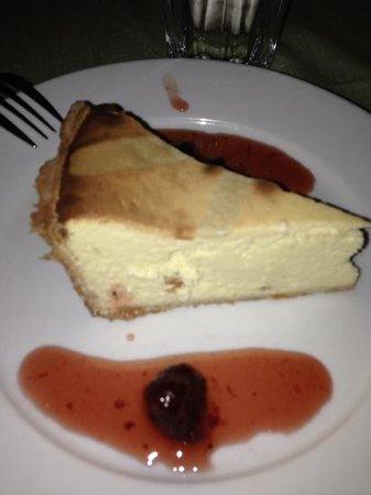 Ballato's: delicious cheese cake