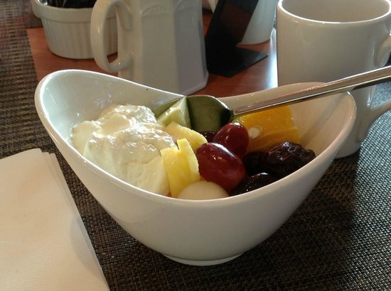 Hilton Sheffield : Breakfast,- Fruits fromais