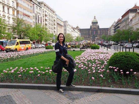 Wenceslas Square: Praça Venceslau