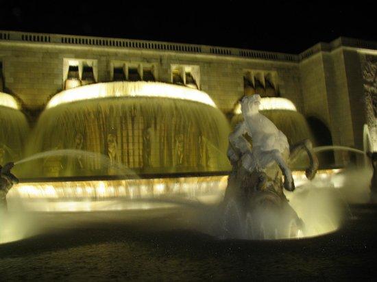 Hotel A. S. Lisboa: до фонтана метров 150