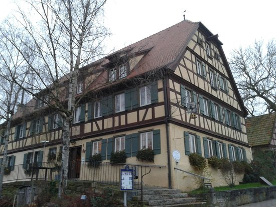 Hotel Schwarzes Ross: The main hotel (front)