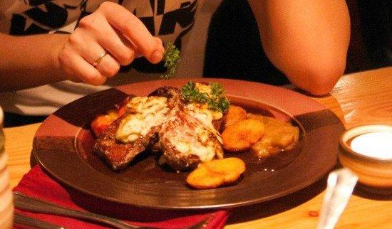 Viikinkiravintola Harald: Вкусная еда