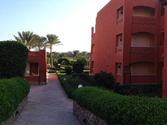 Sharm Grand Plaza: территория