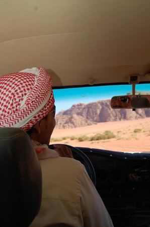 Wadi Rum Travel Camp: Mohammad, the guide
