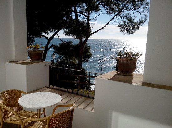 Silken Park Hotel San Jorge : Une vue sur le BLEU