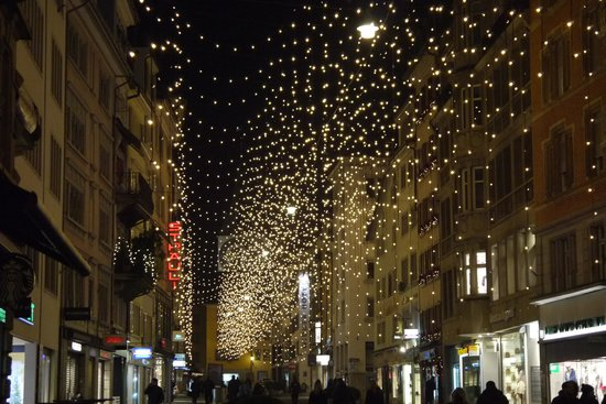 Widder Hotel: Renweg Christmas Lights