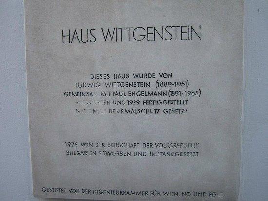 Haus Wittgenstein - Bulgarisches Kulturinstitut: Haus Wittgenstein