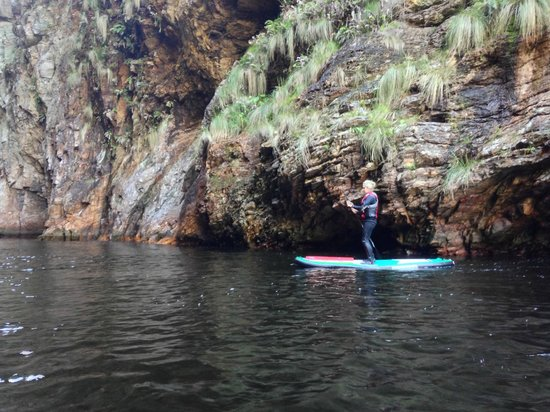 Untouched Adventures: SUPing the storms river