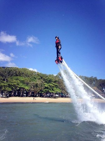 Flyboard Cairns: Fly up high to reach the sky :))))) IRON MAN !!