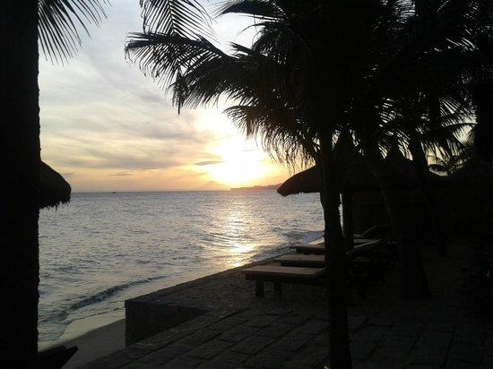 Le Jardin des Thes: coucher de soleil