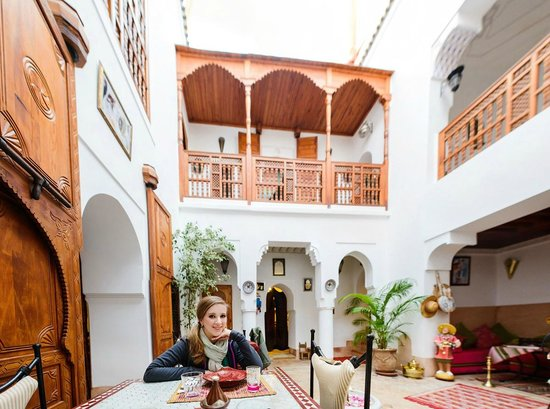 Riad Slawi: Dining Area