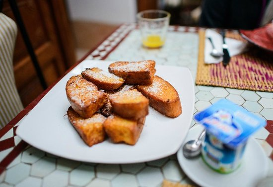 Riad Slawi: Breakfast.