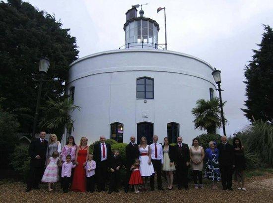 Amazing wedding at West Usk Lighthouse
