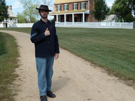 Appomattox Court House National Historical Park: Union Soldier at Appomatox