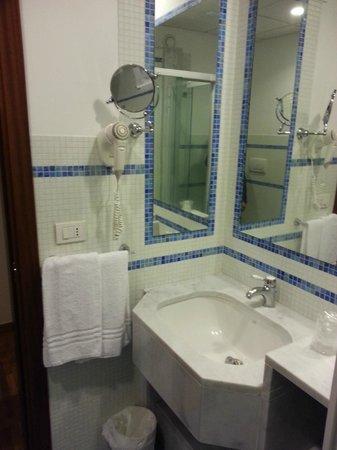 Svevo Hotel : Lavandino e specchio