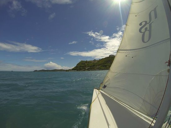 Nonsuch Bay Resort : Our sailing trip