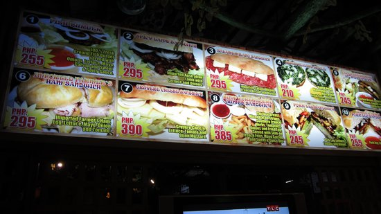 Deep Forest Garden Hotel: Sandwiches they offer...Large and yummy