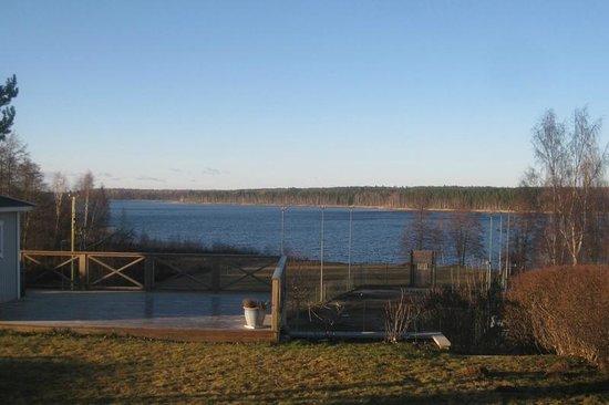 Tibro, Swedia: En sen novemberdag 2013, utsikt från mitt hem