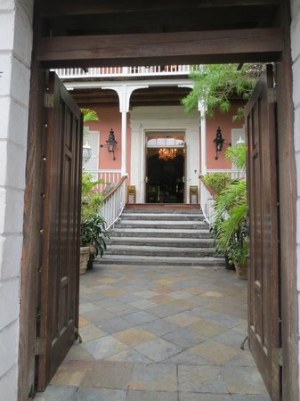Government House Entrance