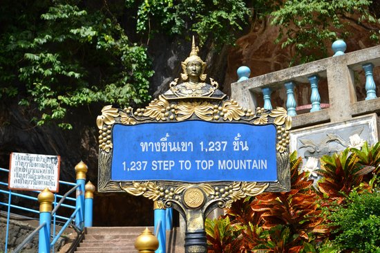 Tiger Cave Temple (Wat Tham Suea) : 1237 steps...