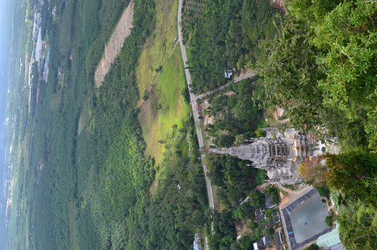 view from above - Picture of Tiger Cave Temple (Wat Tham ...