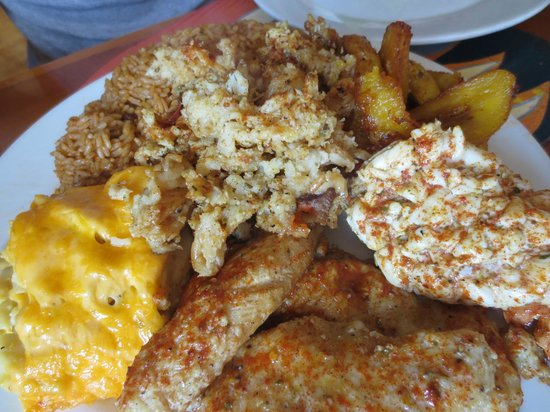 Andros The Fish Fry : Sampler plate