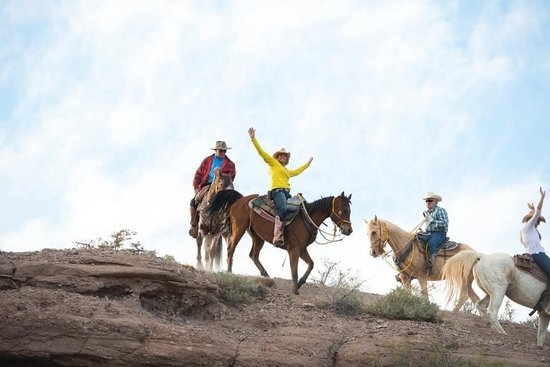 Acacia Riding Adventures: Hands up doing the ARA SAlute!