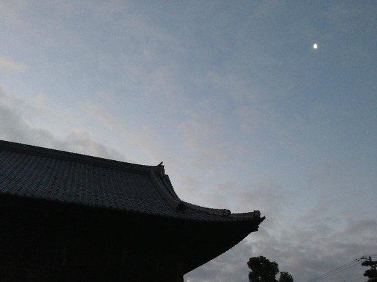 Doryuji Temple: 月と道隆寺