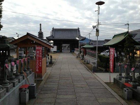 Doryuji Temple: 境内