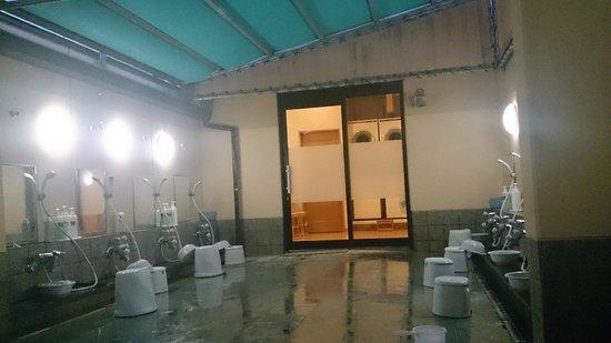 Hotel Route Inn Hamamatsu Ekihigashi: 大浴場・洗い場