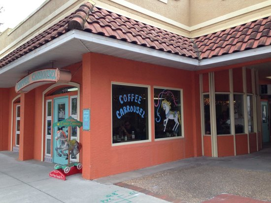 Coffee Carrousel: Outside view