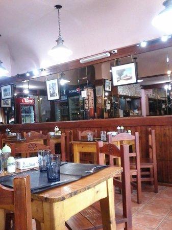 El Chiringuito: interior mesas
