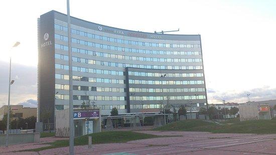 Hotel Fira Congress: Fira Congress kurz vor Sonnenuntergang