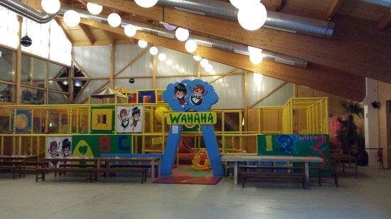 Wahaha Paradise: Zona giochi
