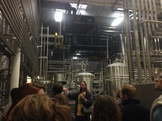 Dogfish Head Craft Brewery: Inside